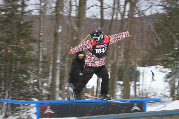 1/23/2016 Slopestyle #1 at Belleayre Mountain
