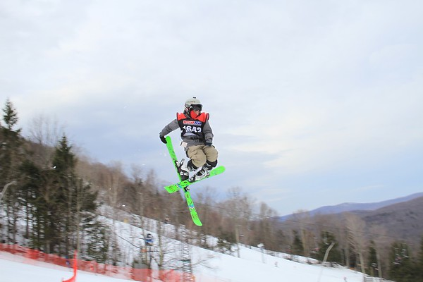 1/31/2016 Slopestyle #2 at Hunter Mountain
