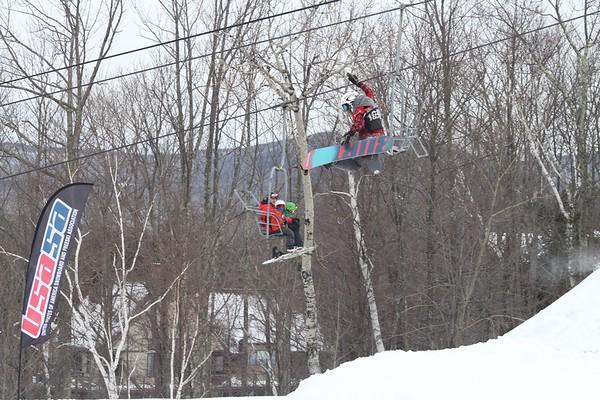 1/28/2017 Slopestyle #4 at Windham Mountain