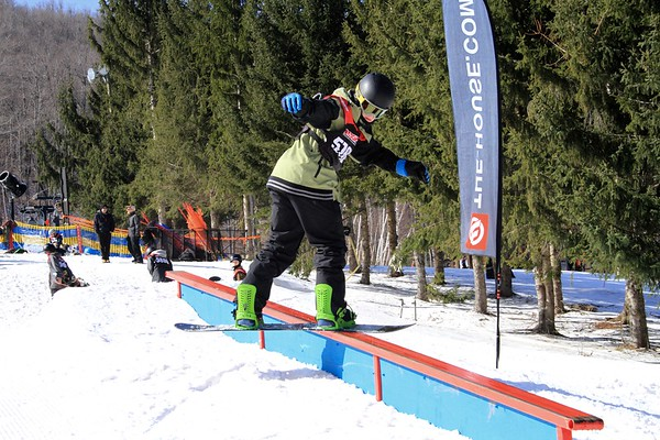 2/28/2016 Rail Jam #3 at Windham Mountain