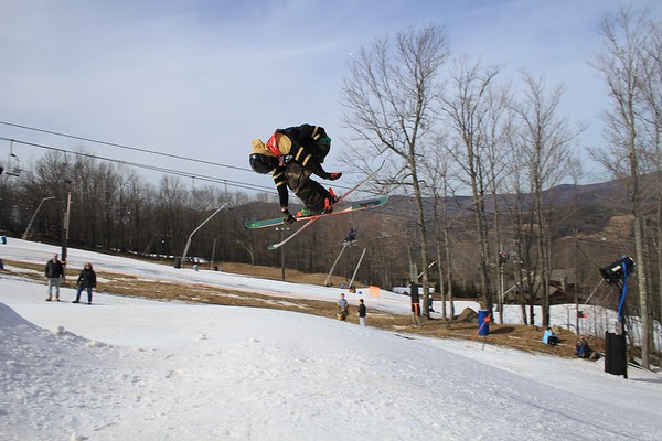 2/28/2016 Slopestyle # 3 & 4 at Windham Mountain
