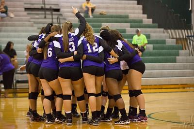 Cedar Ridge v Cedar Park Volleyball 8/25/13