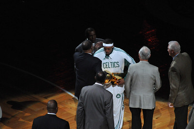 Celtics-Ring Ceremony-10/28/2008