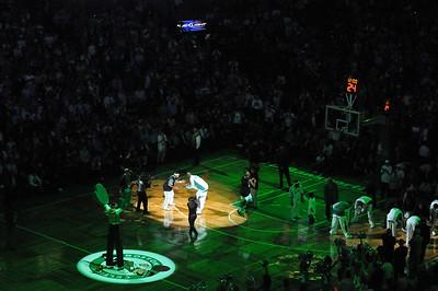Celtics Season Opener vs Cavs 10/28/2008