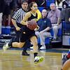 Monarch's Rachel Keatley dribbles the ball down court against Centaurus during Friday's game at Centaurus High School.<br /> <br /> December 14, 2012<br /> staff photo/ David R. Jennings