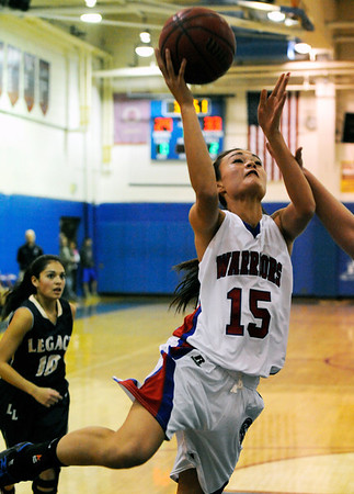"""Centaurus High School's on Saturday, Dec. 10, during the Boulder Valley Invitational finals against Legacy High School at Centaurus. Legacy won the game 53-49. For more photos of the game go to  <a href=""""http://www.dailycamera.com"""">http://www.dailycamera.com</a><br /> Jeremy Papasso/ Camera"""