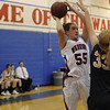"Centaurus High School's on Saturday, Dec. 10, during the Boulder Valley Invitational finals against Legacy High School at Centaurus. Legacy won the game 53-49. For more photos of the game go to  <a href=""http://www.dailycamera.com"">http://www.dailycamera.com</a><br /> Jeremy Papasso/ Camera"