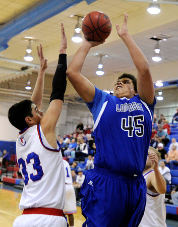 "on Wednesday, Jan. 4, during a basketball game at Centaurus High School in Lafayette. Longmont won the game 46-38. For more photos of the game go to  <a href=""http://www.dailycamera.com"">http://www.dailycamera.com</a><br /> Jeremy Papasso/ Camera"