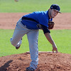 "Alex Blazon of the Centaurus Warriors, pitches against the Longmont Twins in The Boulder NIT tournament.<br /> For more photos of the game, go to  <a href=""http://www.dailycamera.com"">http://www.dailycamera.com</a>.<br /> Cliff Grassmick / July 12, 2012"