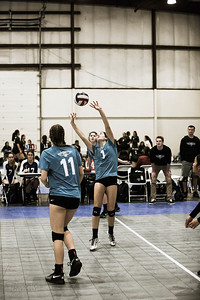 Central Cal Volleyball: President's Day Tournament 2017