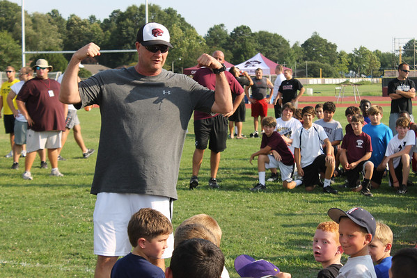 Central High Todd McClure Football Camp 6-12