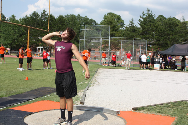 Central High at 5-5A District Track Championships