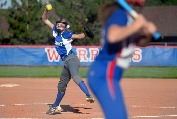 Softball Busy Longmont Starts Week Off Right Against Centaurus