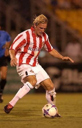 Sunderland AFC  v. Charleston Battery 7/27/04