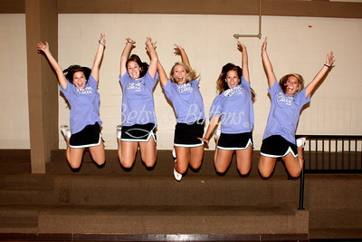 The Fab Five Cheer Camp 2012