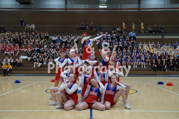 Tecumseh Middle School Cheer 2017