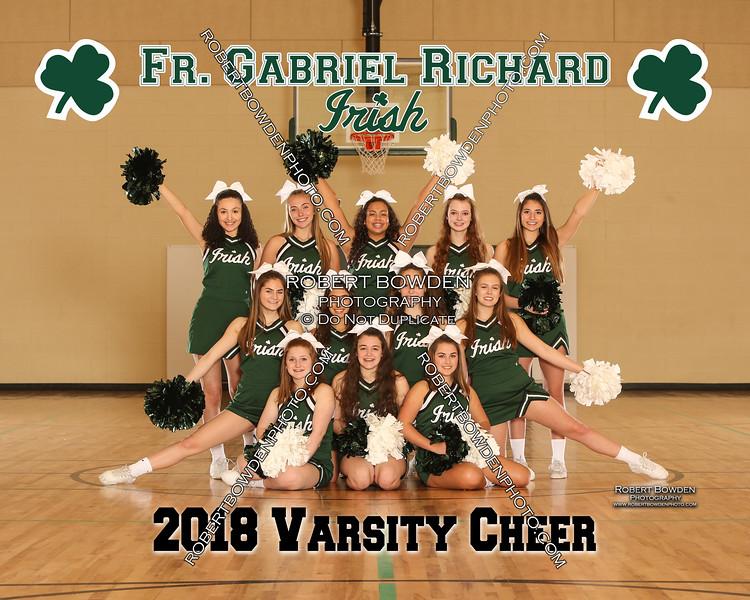 2018 FGR Cheer Team 8x10