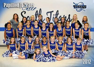 Jr Titans Cheer 2012