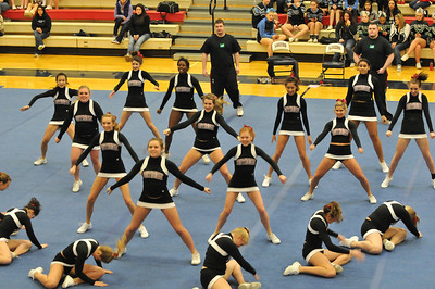 SrHS Cheer - Lake Oswego - 2011