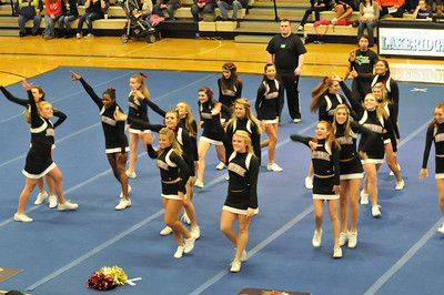 SrHS Cheer - Lakerridge - 2011
