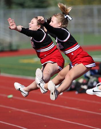 2007 EPHS Soccer Cheerleaders (Oct 6, 2007)