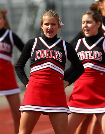 2008 EPHS Soccer Cheerleaders (Sept 6, 2008)