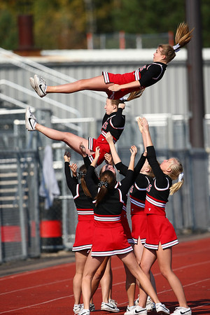 2008 EPHS Soccer Cheerleaders (Oct 11, 2008)