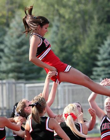2009 EPHS Girls Varsity Soccer Cheerleaders (Sept 10, 2009)
