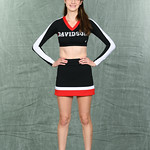 NCAA CHEER:  OCT 06 Davidson Cheer Photo Day