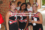 14 August 2010:  Athletes, fans and friends of Davidson athletics pose for  pictures at Davidson College in Davidson, North Carolina.