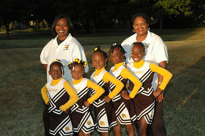 3rd grade Bulldogs Cheerleaders