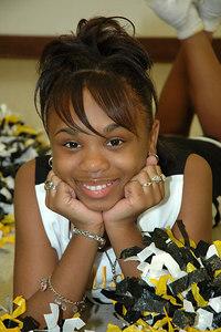 2006 Bulldog Cheerleaders. 2nd & 5th Grade. Wichita, Kansas. Parks