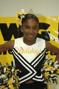 2006 Bulldog Cheerleaders. 2nd & 5th Grade. Wichita, Kansas. Jones