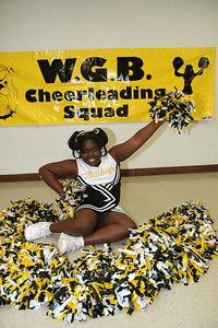 2006 Bulldog Cheerleaders. 2nd & 5th Grade. Wichita, Kansas.  Ford