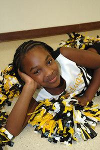 2006 Bulldog Cheerleaders. 2nd & 5th Grade. Wichita, Kansas. Parker