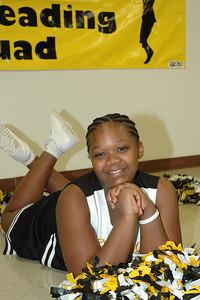 2006 Bulldog Cheerleaders. 2nd & 5th Grade. Wichita, Kansas. Riley