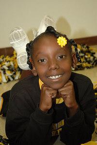 2006 Bulldog Cheerleaders. 2nd & 5th Grade. Wichita, Kansas.  Allen