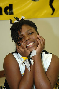 2006 Bulldog Cheerleaders. 2nd & 5th Grade. Wichita, Kansas.  Taliyah