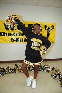 2006 Bulldog Cheerleaders. 2nd & 5th Grade. Wichita, Kansas. Tolefree