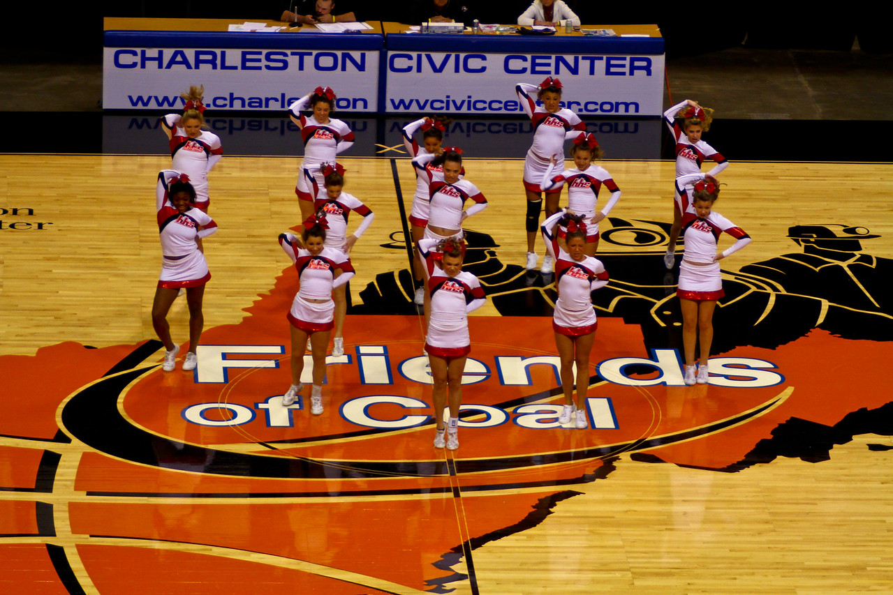 WVSSAC Cheer Competition 2011