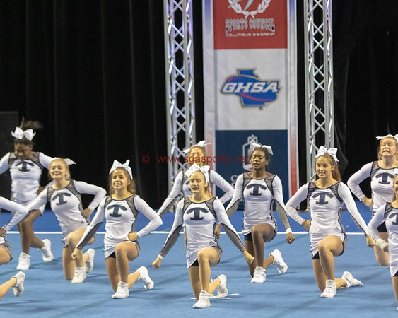 2018 State Cheer Meet  All Photos Margaret Carr/SGSN
