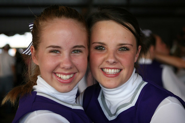 Cheerleaders compete at the Coosa Valley Fair