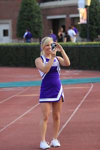 Darlington PigSkin Football Cheerleaders 2011