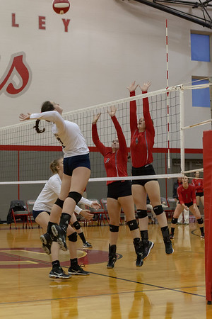 09-25-18 Volleyball CV vs Oneonta