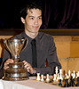 "David Howell, the 2009 British Chess Champion.  Photo was published in the September 2009 issue of ""Chess Monthly""."