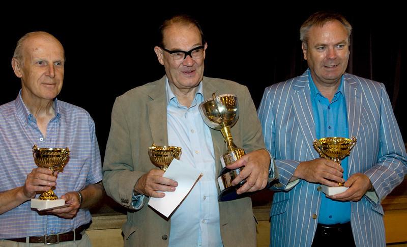 Geoffrey James, David Anderton and Tony Ashby
