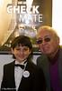 Samir Samadov with fellow actor Ray Bull