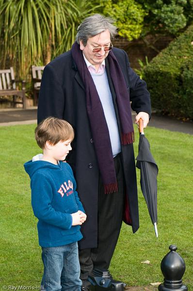 Grandmaster Raymond Keene