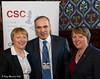 8771 - Maria Eagle MP and Angela Eagle MP with Garry Kasparov