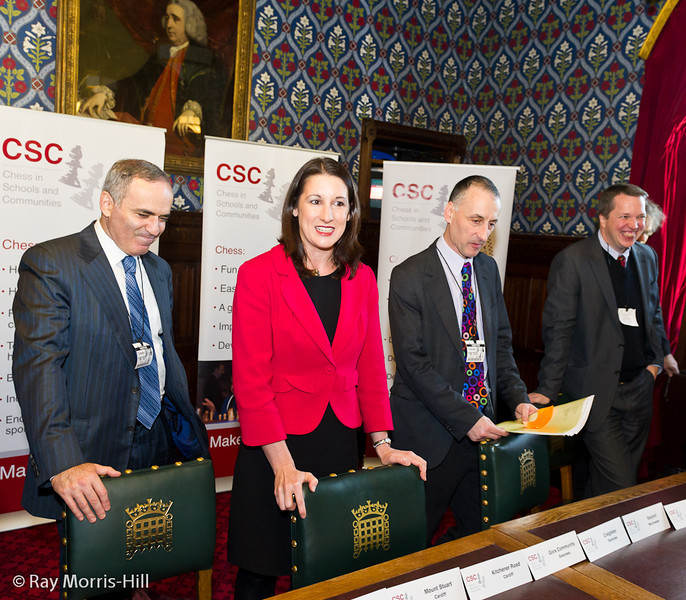 8673 - Garry Kasparov, Rachel Reeves MP, Malcolm Pein and Nigel Short